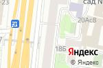 Схема проезда до компании Fatec в Москве