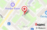 Схема проезда до компании Медиа Бриз в Москве