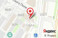 Схема проезда до компании Москапстрой-ТН в Москве