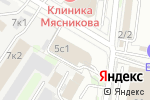 Схема проезда до компании ГЕОСТРИМ в Москве