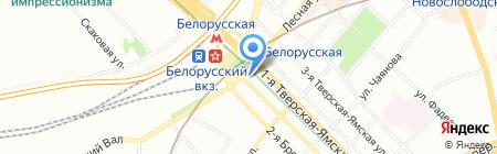 Мамины помощники на карте Москвы