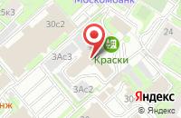 Схема проезда до компании Браш-Студия в Москве