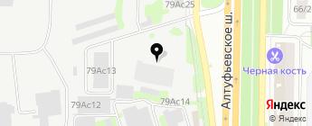 Ремкузов на карте Москвы