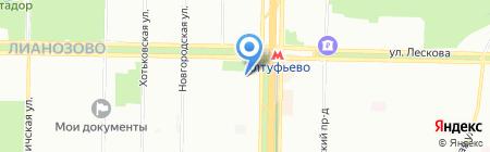 Мебель Белоруссии на карте Москвы