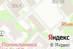 Схема проезда до компании Магазин сантехники и мебели для ванных комнат в Москве