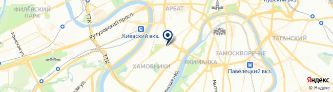 Расположение клиники Лечебный центр на ул. Тимура Фрунзе