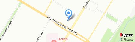 Астродорс на карте Москвы