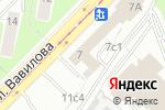 Схема проезда до компании Евротур-Е в Москве