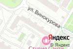 Схема проезда до компании Новая студия в Москве