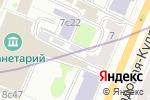 Схема проезда до компании Проект Bonoperte в Москве