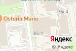 Схема проезда до компании GEEK SQUARE в Москве