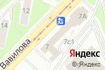 Схема проезда до компании Лагманная в Москве