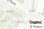 Схема проезда до компании Барентц Рус в Москве