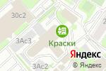 Схема проезда до компании Rikki-Chikki в Москве