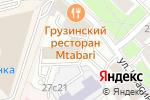 Схема проезда до компании SST DESIGN в Москве