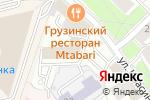 Схема проезда до компании Тетраюнион в Москве
