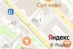 Схема проезда до компании Зууб.рф в Москве