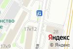 Схема проезда до компании Автограф в Москве