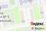 Схема проезда до компании Инженерная служба района Марфино в Москве