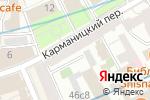 Схема проезда до компании О`блик в Москве