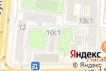 Схема проезда до компании Ткани Милано в Москве