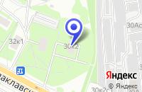 Схема проезда до компании  РАСТВОРО-БЕТОННЫЙ УЗЕЛ ОПТОВАЯ БАЗА ГЛАВМОССТРОЙ-БЕТОН в Москве
