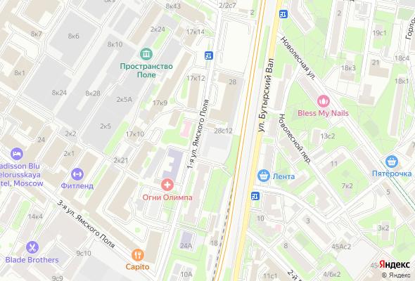 купить квартиру в ЖК Клубный дом I'M Тверская (на 1-й ул. Ямского Поля)