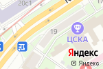 Схема проезда до компании Cotton Way в Москве