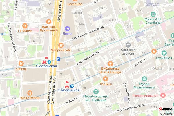Ремонт телевизоров Карманицкий переулок на яндекс карте
