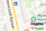 Схема проезда до компании Внешнеэкономические связи России в Москве
