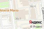 Схема проезда до компании Naf Production в Москве