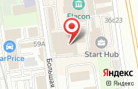 Схема проезда до компании Про-Ф в Москве