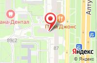 Схема проезда до компании Технолифт в Москве