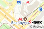 Схема проезда до компании Токио Рамен в Москве