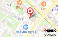 Схема проезда до компании Прялка Ру в Москве
