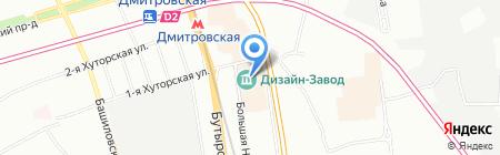 Сервис ПРО на карте Москвы