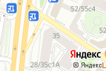 Схема проезда до компании Концепт в Москве