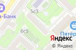 Схема проезда до компании ГОРОД КРАСОТЫ в Москве