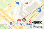 Схема проезда до компании Марина Тревел в Москве