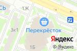 Схема проезда до компании Mix Studio в Москве
