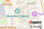 Схема проезда до компании MIMA в Москве