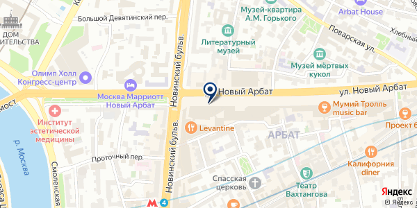 Статус на карте Москве