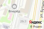 Схема проезда до компании Корпоративное решение в Москве