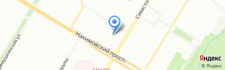 АксЛайн на карте Москвы