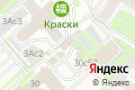 Схема проезда до компании Инкотек в Москве