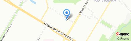 Архитектурная Керамика на карте Москвы