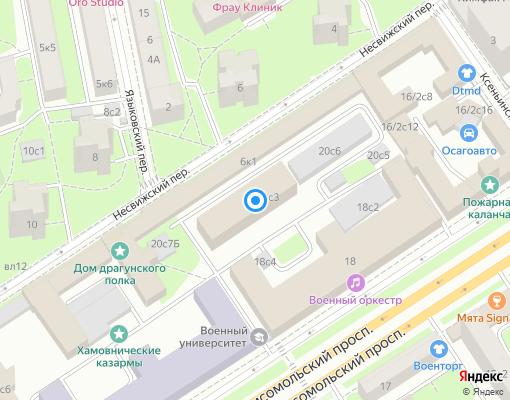 Управляющая компания «ГУЖФ» на карте Москвы