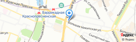 Балтурас на карте Москвы
