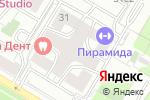 Схема проезда до компании Белла Вита Дент в Москве