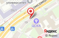 Схема проезда до компании Лаврофф Технолоджи в Москве